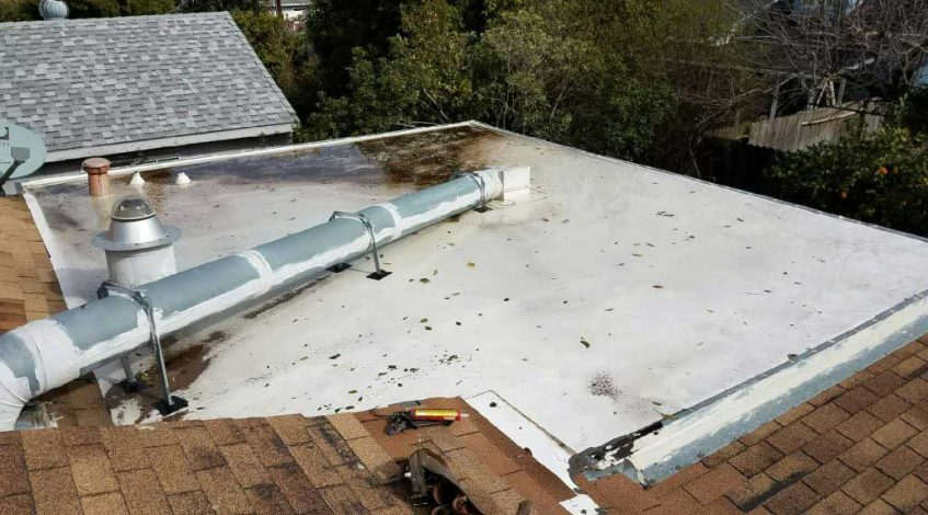 Flat Roof Leak Detection in San Jose CA
